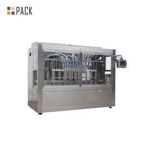 Автоматична машина за пълнене с течна глава с шест глави