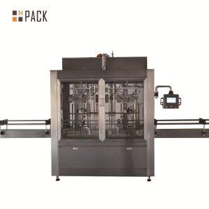 Две глави пневматична обемна бутална машина за течно пълнене