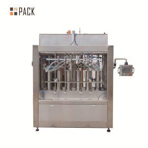 Автоматична машина за пълнене с течен доматен сос