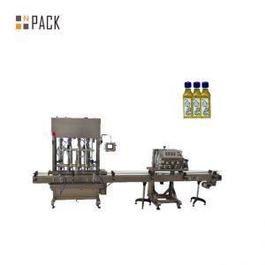 Автоматична машина с 2 дюзи гел лак за пълнене на бутилки за пълнене на бутилка