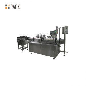 Персонализиран стъклен капкомер e машина за пълнене с етикет за пълнене на течност за електронна цигара