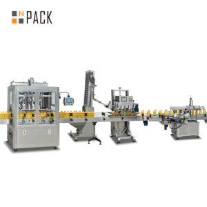 машина за пълнене на бутало с конфитюр, автоматична машина за пълнене на горещ сос, линия за производство на чили сос