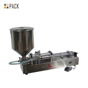 Много популярна машина за пълнене на сладолед / машина за пълнене с двойни глави / машина за пълнене на нокти