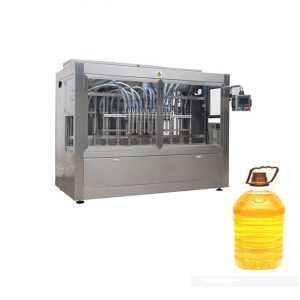 Пълна автоматична машина за пълнене с горчица, годни за ядене с масло