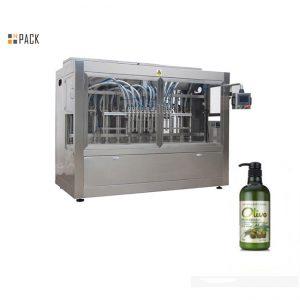 Пълна автоматична машина за пълнене с шампоан за ръчно къпане в ръка