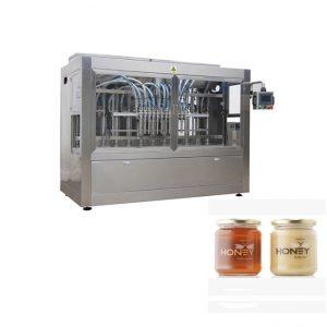 Евтина машина за бутилиране на опаковъчен буркан с мед