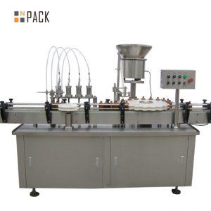Висококачествена пълничка с горивна машина за пълнене с бутилка e-течност e машина за пълнене с течност малка машина за пълнене с капки
