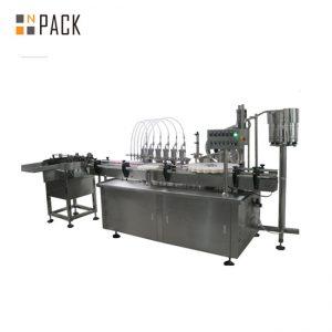 Автоматична цифрова машина за пълнене с течност и крем с много глави